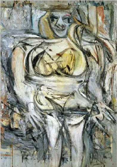 Most Expensive Paintings In the World -  Woman III – Willem de Kooning