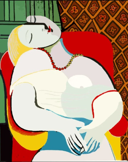 Most Expensive Paintings - La Reve by Pablo Picasso