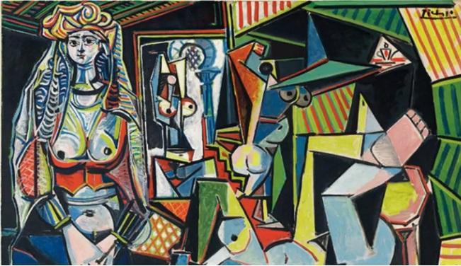 """Les Femmes d' Alger """"Version O"""" – Pablo Picasso"""