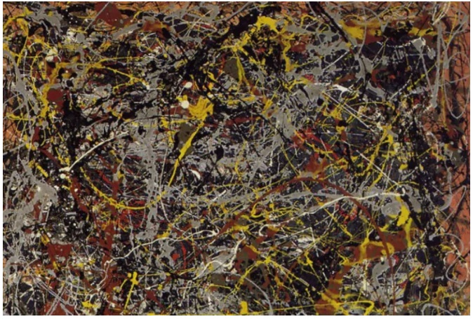 Most Expensive Paintings Ever Sold - No. 5, 1948 – Jackson Pollock