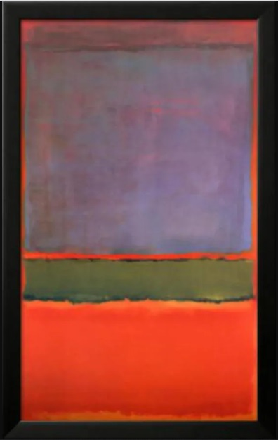 Most Expensive Paintings - No. 6 (Violet, Green and Red) – Mark Rothko