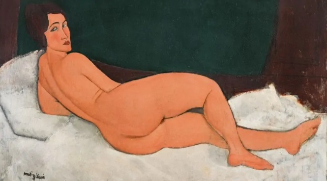 Most Expensive Paintings - Nu Couche by Amadeo Modigliani