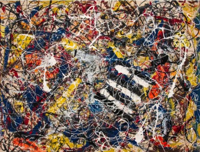 Number 17A – Jackson Pollock