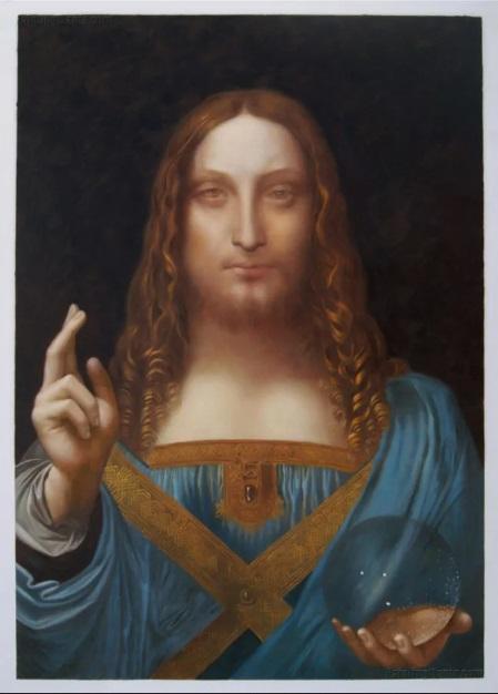 The Most Expensive Painting in the world - Salvator Mundi – Leonardo da Vinci