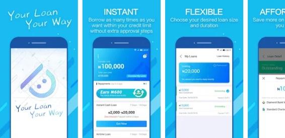 Online loan websites - Palm Credit