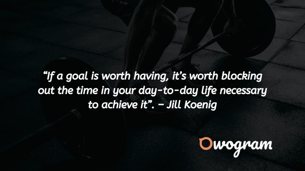 Reaching Goals quotes