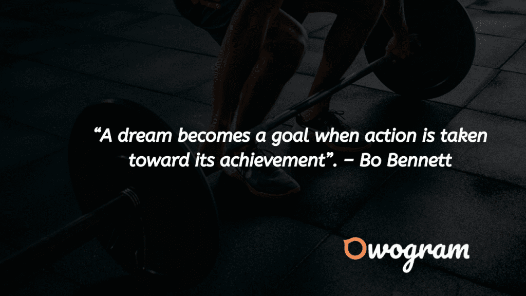 wise sayings about achieving your dreams