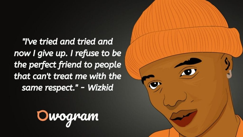 Wizzy sayings