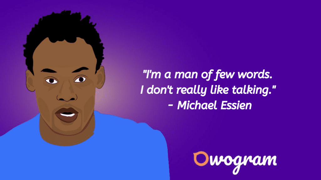 Michael Essien quotes
