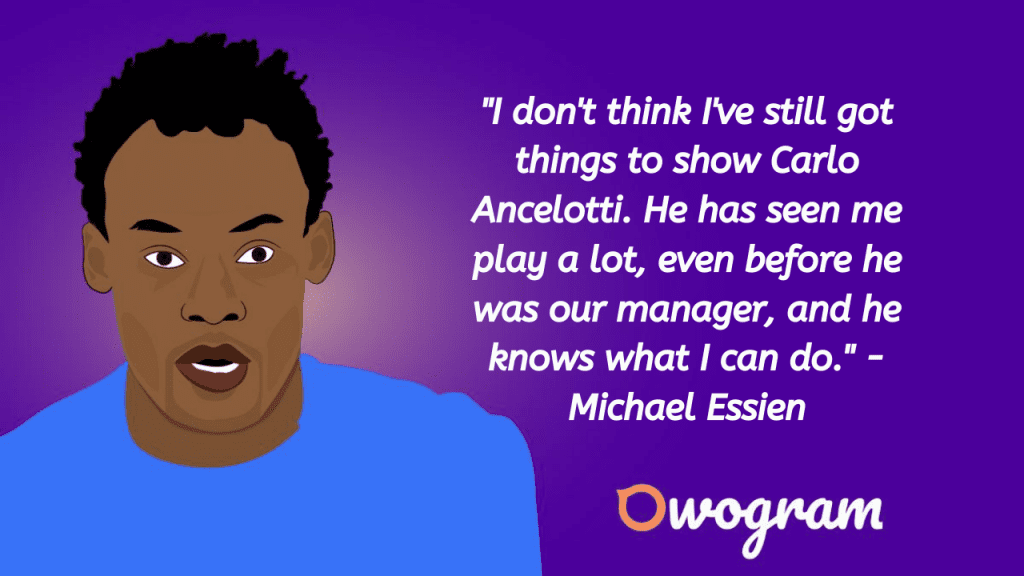 Quotes by Michael Essien