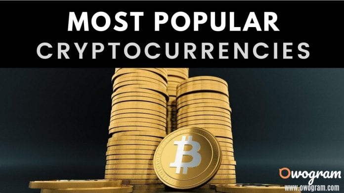 Top 10 Most Popular Cryptocurrencies In The World
