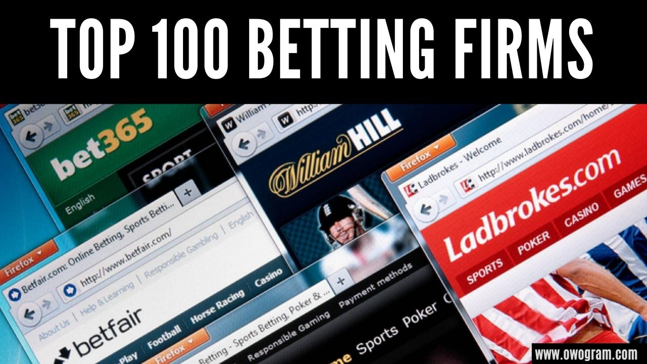 top 100 sports betting sites