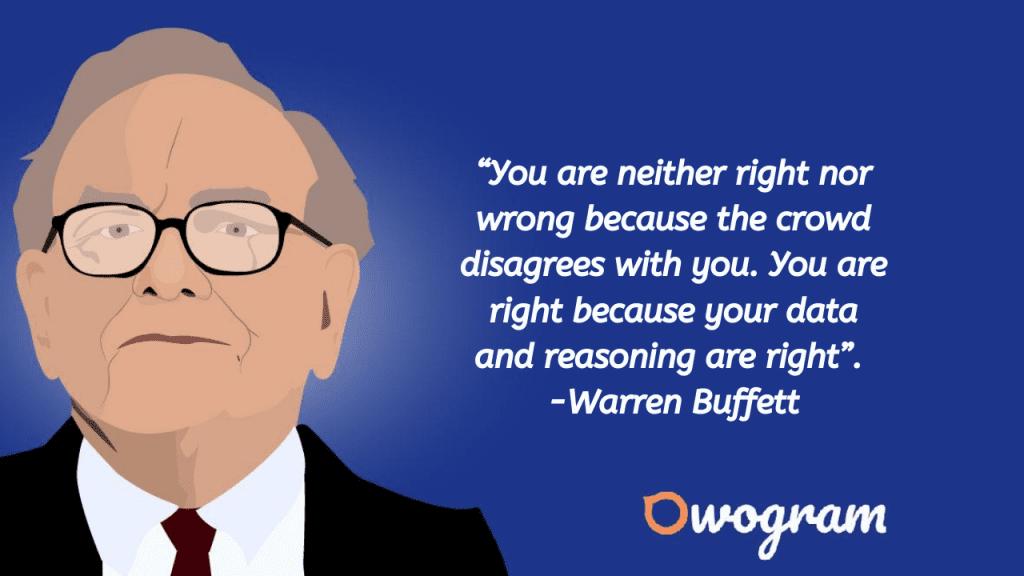 Quotes from Warren Buffet