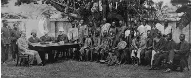 The british during Nigeria's colonization