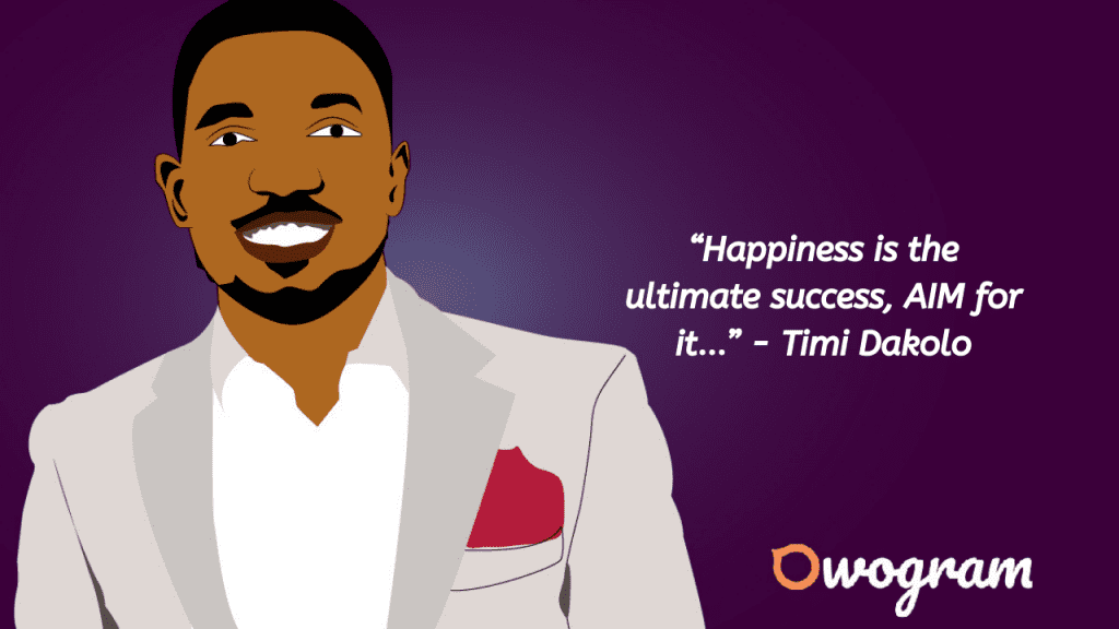 quotes by Timi Dakolo