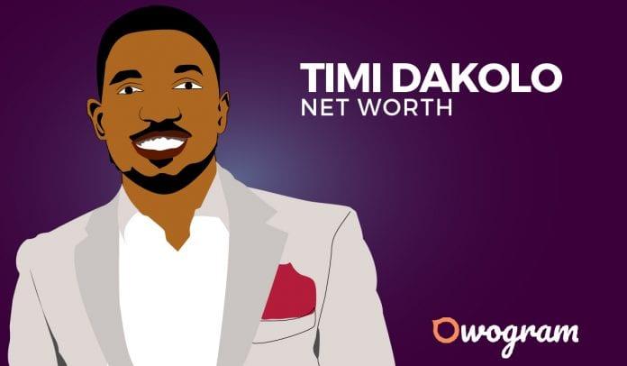 Timi Dakolo net worth and biography