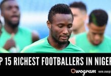 Top Richest Footballers In Nigeria