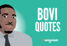 Bovi Quotes and Sayings