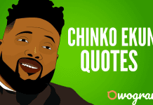 Chinko Ekun Quotes and Sayings