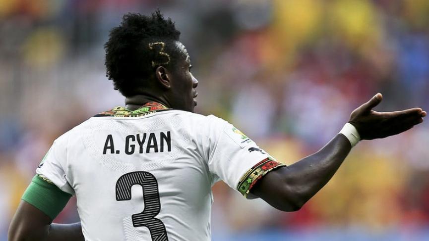 Richest Footballers in Ghana - Asamoah-Gyan