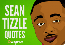 Sean Tizzle Quotes and Sayings