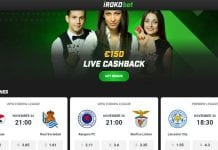Irokobet Review - sports betting site