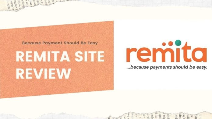 Remita Website Review