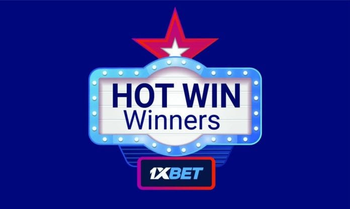 1xbet hot win promo