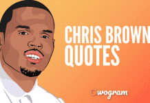 Chris Brown Quotes and sayings