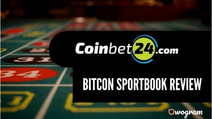 Coinbet24 Bitcoin Sportsbook Review