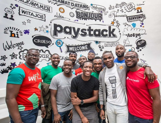 Paystack payments team