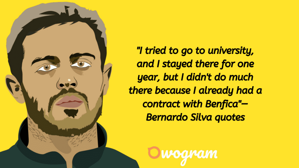 Quotes from Bernardo Silva