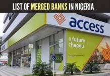 The Full list of merged banks in Nigeria
