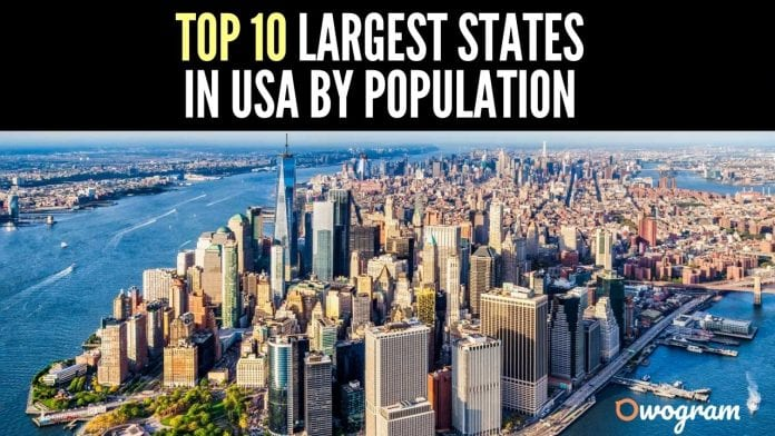 The Top 10 Largest States In USA By Population