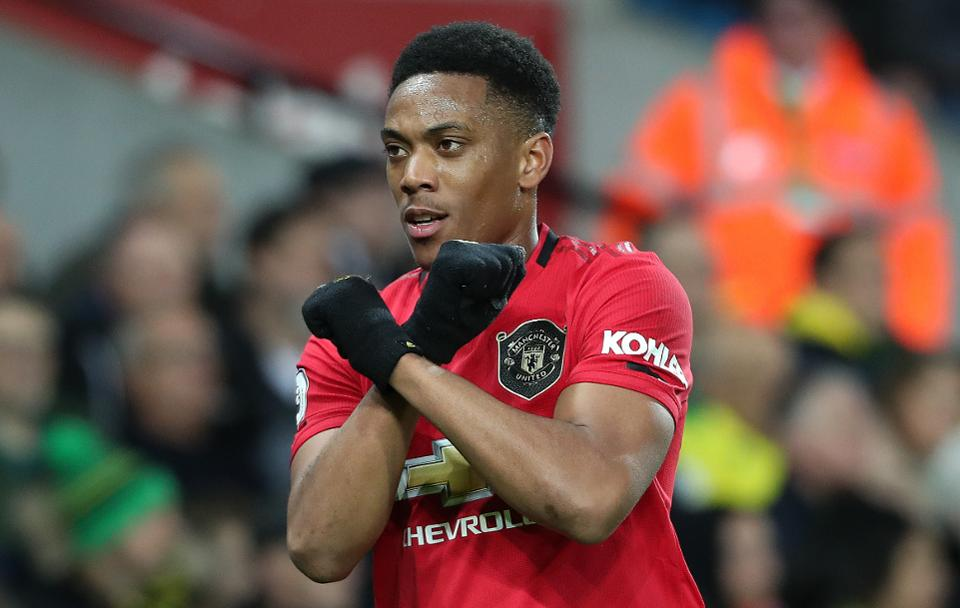 Highest Paid Players In EPL - Anthony Martial