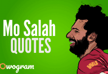 Mohamed Salah quotes and sayings about football