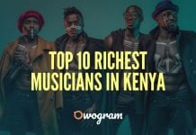 Top 10 Richest Musicians In Kenya