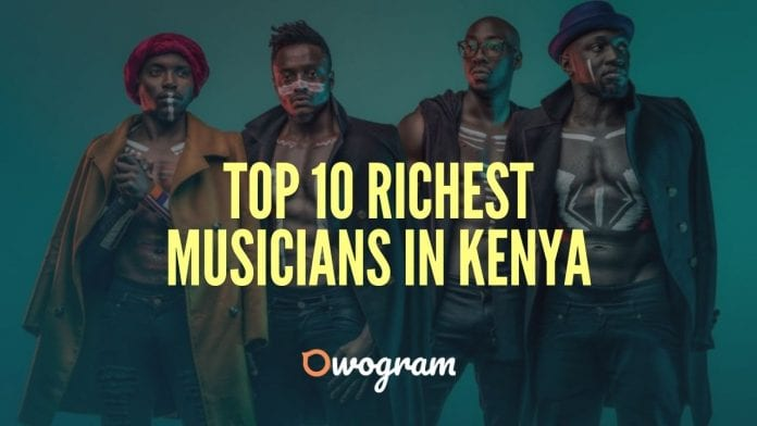 Top 10 Richest Musicians In Kenya