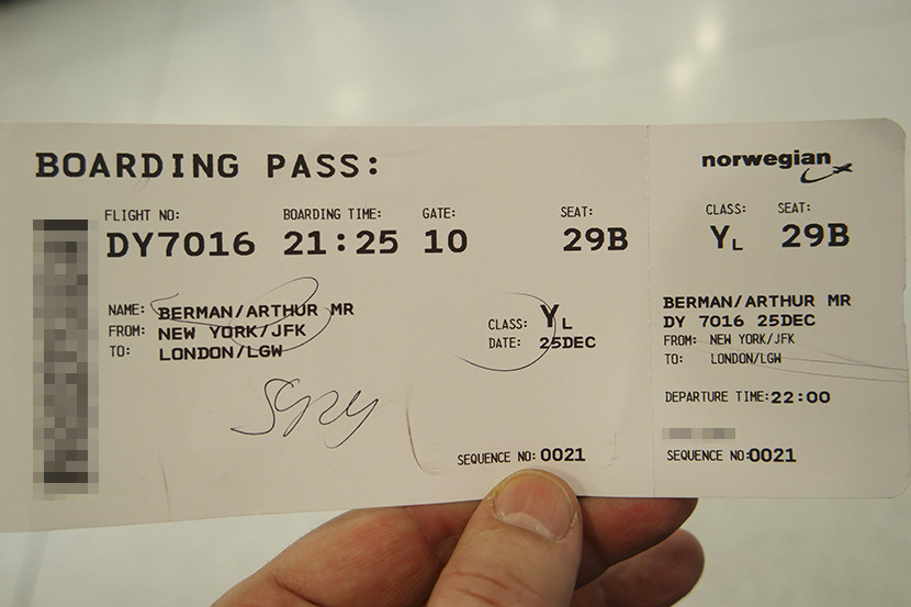 documents needed to book a flight in Nigeria - boarding pass