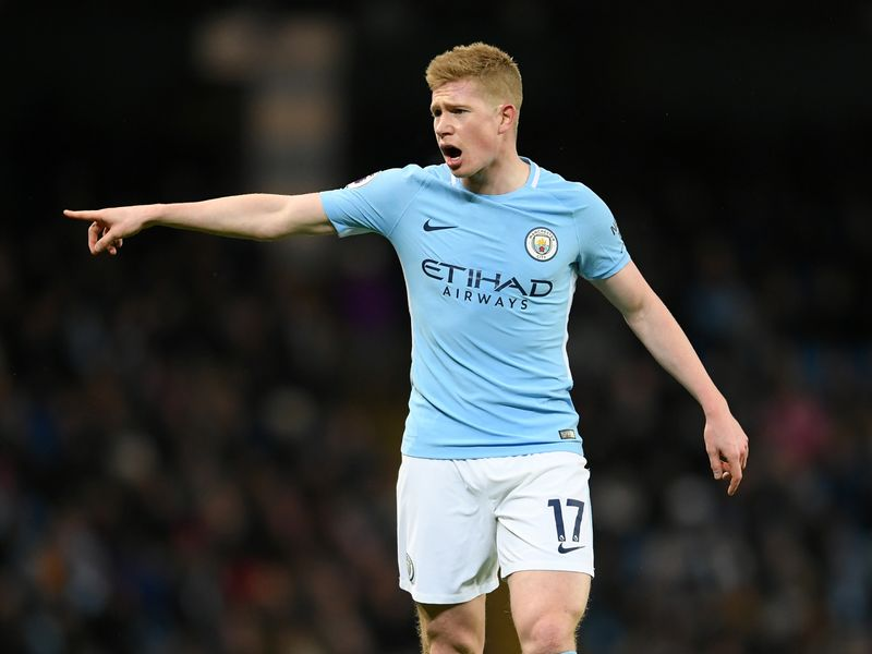 most paid epl players - Kevin De Bruyne