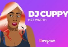DJ cuppy net worth
