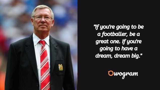 Football coaching quotes - Alex Ferguson