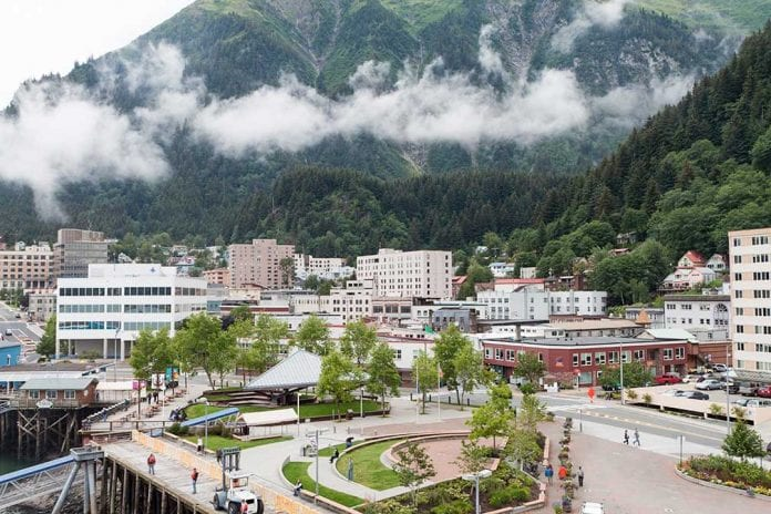 Juneau city is the capital of alaska
