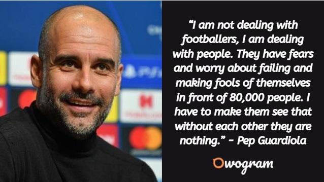 Pep Guardiola quotes