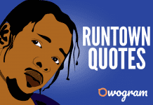 Runtown Quotes and Sayings