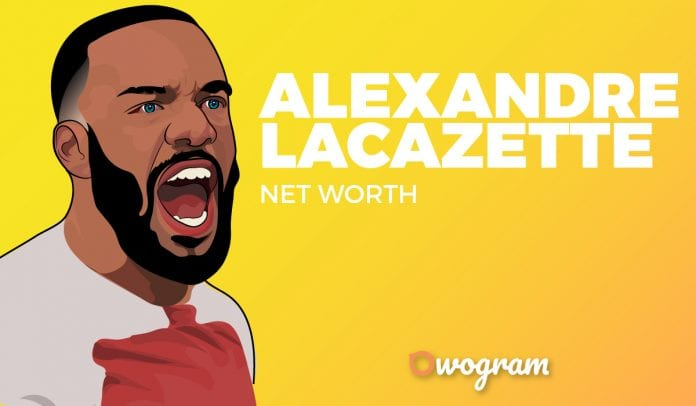 Alexandre Lacazette net worth and biography