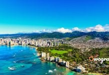 Honolulu City the capital of Hawaii