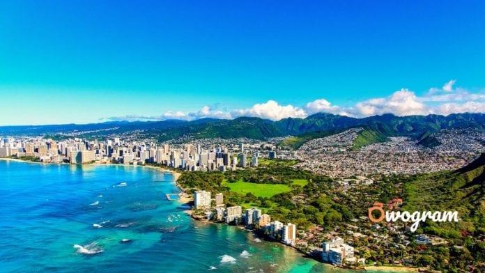Honolulu City the capital of Hawaii