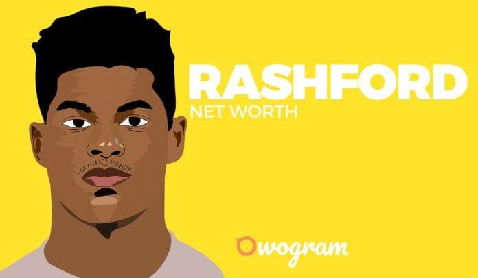 Marcus Rashford Net Worth