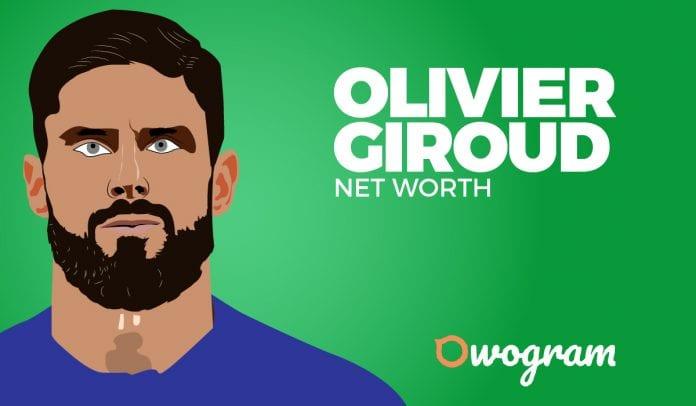 Olivier Giroud net worth